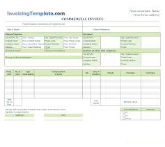 Invoice For Services Template Free Estimate Templates
