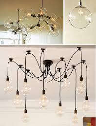 Hanging Edison Bulb Chandelier Hanging Bulb Chandelier U2013 Sl Interior Design