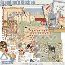 kitchen collection store hours digital scrapbooking kit s kitchen collection biggie by