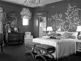 Black Bedroom Themes by Black White And Silver Bedroom Ideas Home Design