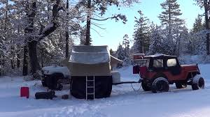 jeep camping mods jeep willys and sas 4runner march 2013 snow camping wheeling