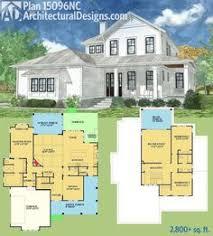 Large Farmhouse Floor Plans Vintage Farmhouse Coastal Living Cottage Dream House