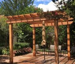 12 X 12 Pergola by Western Red Cedar Pergola 12x12 Sequoia Outdoor Supply
