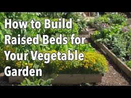 how to use raised beds in your garden the old farmer u0027s almanac