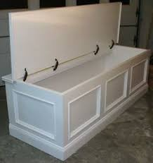 Kitchen Bench Seat With Storage Awesome Kitchen Bench With Storage I Bet The Husband Could Build