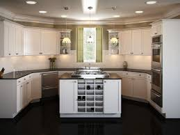 salient kitchen black color granite counters mosaic pattern table