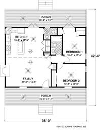 house plan small ranch house plan two bedrooms one bathroom plan 109 1010