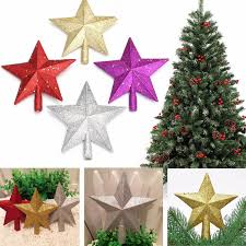 colorful tree topstar for table top ornament
