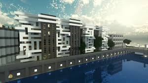 modern apartment building minecraft project minecraft buildings