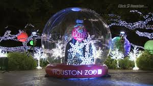 Christmas Lights At Houston Zoo by Houston Zoo Lights