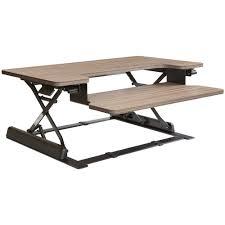 Height Adjustable Desks by Height Adjustable Desk Riser In Desks And Hutches