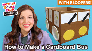 diy kids craft cardboard u201cwheels on the bus u201d show me how parent