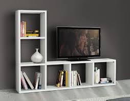 Mobile Porta Telefono Ikea by Libreria Porta Tv Bianco Frassinato Mobili Lapi Shop Online