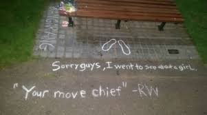 Good Will Hunting Meme - robin williams fans turn good will hunting bench into a makeshift
