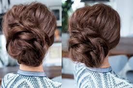 Simple But Elegant Hairstyles For Long Hair by 5 Popular Easy Updos For Long Hair Style Samba