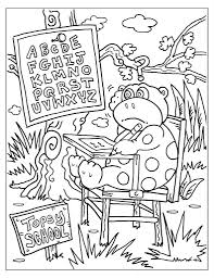 first day of coloring page within pages for kindergarten
