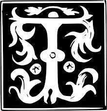 monogram letter t monogram initial letter free vector graphic on pixabay