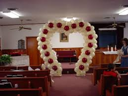 church wedding arch ideas balloon decorations for weddings