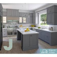kitchen sink base cabinet and countertop j collection shaker assembled 36 in x 34 5 in x 24 in