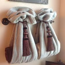 how to decorate bathroom towels 10709