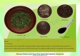 resep herbal kesuburan pria obat kuat