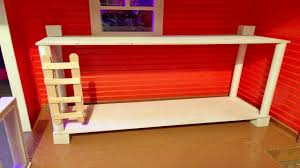 Doll House Bunk Beds Bunk Bed How To Make Tutorial For Doll House Bedrooms We Do