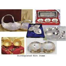 silver gift items silver plated gift items silver gifts set manufacturer from mumbai