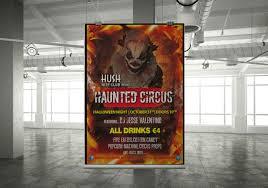 hush nightclub haunted circus halloween event nightclub bar hotel