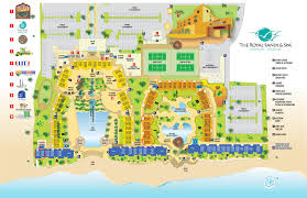 Mexico Resorts Map by Royal Sands Cancun Resort Rentals