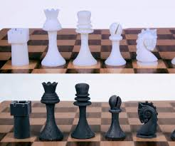 Diy Chess Set by Readymake Duchamp Chess Pieces 3d Recreations From Photographs