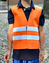 Halloween Costume Construction Worker Construction Vest Halloween Costume Dressup Play Felt Vest