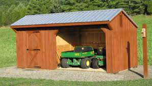 Lean To Barns Run In Sheds Horse Shelters Run In Sheds For Horses