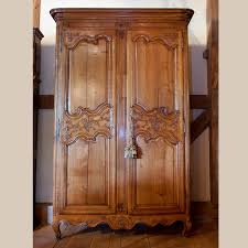 Cherry Armoire Wardrobe Country French And English Antique Furniture And Accessories