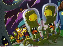 pixel art halloween background simpsons scene wallpapers u2014 simpsons crazy