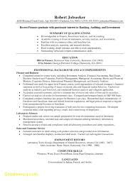 Resume Examples For Banking by New Sample Resume For Investment Banking Analyst Best Resume