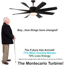 montecarlo turbine ceiling fan called the best fan in all five categories montecarlo ceiling fan