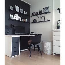 Ikea Office Ideas by Black Painted Ikea U0027alex U0027 Drawer Comakokos U2026 Pinteres U2026