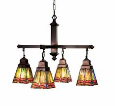 Stained Glass Light Fixtures Dinning Mission Style Lighting Tiffany Lamp Shade Stained Glass