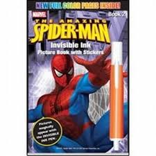 amazon spiderman magic painting book 2 lee