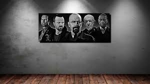 Breaking Bad Poster Leinwand Bild Er Xxl Pop Art Breaking Bad Collage Walter White