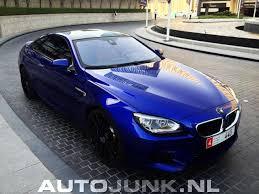 bmw m6 blue blue bmw m6 f13 on hre wheels in dubai uae the saudi