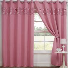 blackout curtains thermal pink butterfly tony textiles