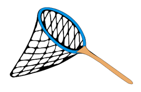 fish net clipart pencil and in color fish net clipart