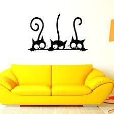 Home Decoration Accessories Wall Art Wall Art Black Cat Metal Wall Art See Larger Image Cat Wall Art