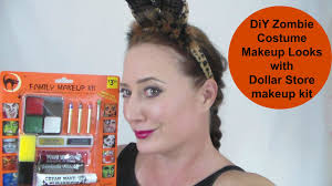 Professional Halloween Makeup Kits by Diy Zombie Look With A Dollar Store Kit Featuring The Mancub