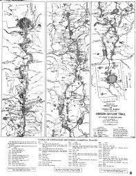 Map Of Oregon Trail current and historical maps u2013 trail advocates