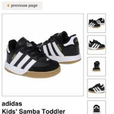 baby sambas i these and now the boys both a pair stuff for the