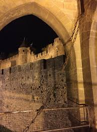 Carcassonne Nighttime In Carcassonne U2014 Moments Parfaits