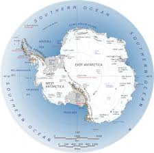 Map With Oceans About Antarctica Antarctic And Southern Ocean Coalition