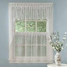 priscilla bridal lace kitchen u0026 tier curtains lorraine home